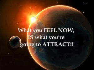 Think with Intention.  Your thoughts attract like vibration